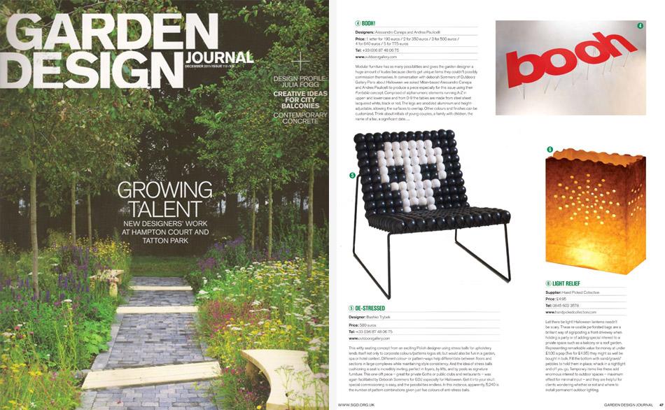 Garden design journal 1 8 11 fontable for Garden design journal