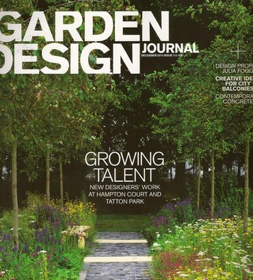 GARDEN DESIGN JOURNAL 1/8/11